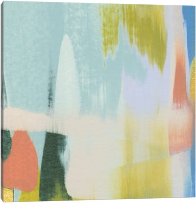 Rainbow Scrape IV Canvas Art Print
