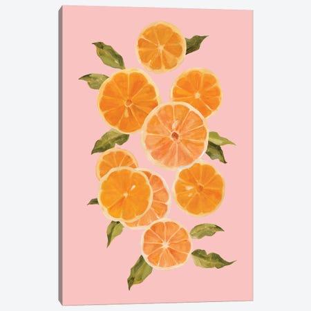 Spring Citrus II Canvas Print #EMC14} by Emma Caroline Art Print