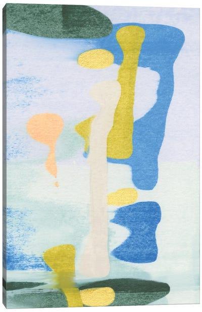 Rorschach Rainbow I Canvas Art Print