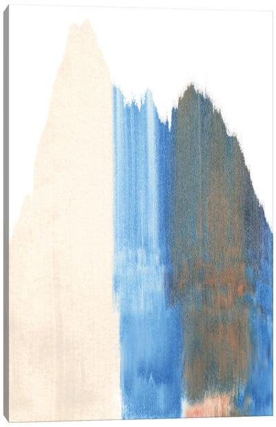 Seismic Slide I Canvas Art Print