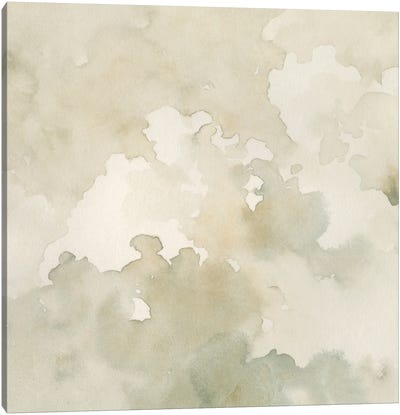 Warm Clouds Abstract I Canvas Art Print