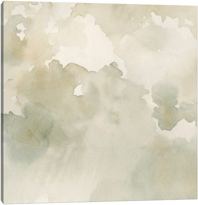 Warm Clouds Abstract II Canvas Art Print