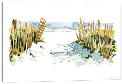 Beach Impressions II Canvas Art Print