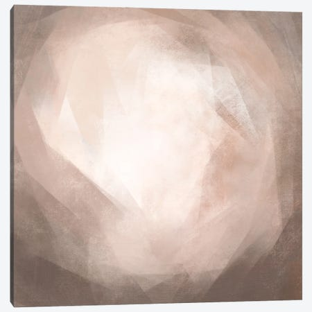 Blush Prism II Canvas Print #EMC18} by Emma Caroline Canvas Art
