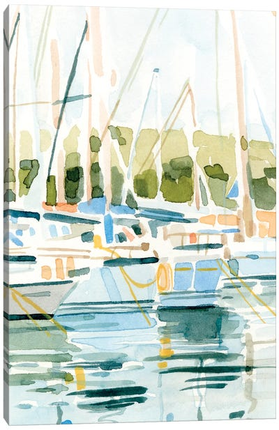 By the Bay I Canvas Art Print