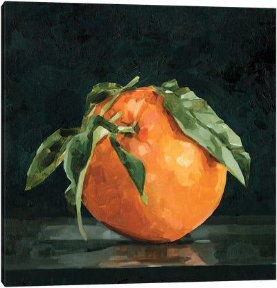 Dark Orange Still Life II Canvas Art Print