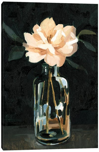 Dark Rose Arrangement I Canvas Art Print