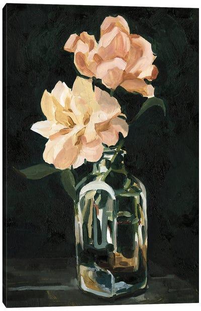 Dark Rose Arrangement II Canvas Art Print