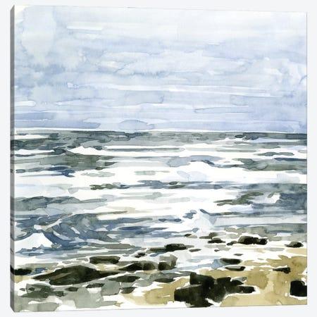 Loose Seascape II Canvas Print #EMC32} by Emma Caroline Canvas Wall Art