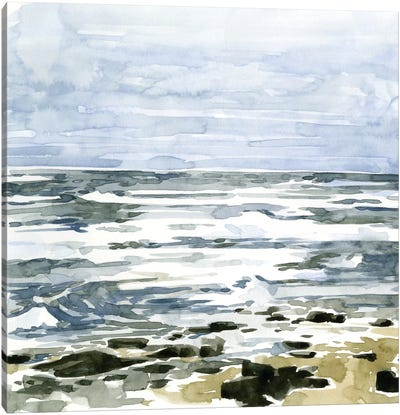 Loose Seascape II Canvas Art Print