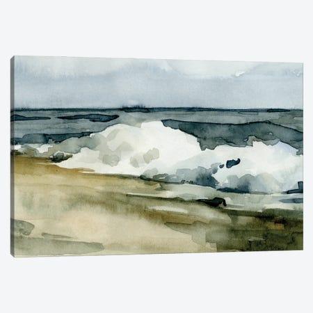 Loose Watercolor Waves II Canvas Print #EMC33} by Emma Caroline Canvas Art