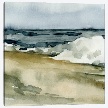 Loose Watercolor Waves V Canvas Print #EMC34} by Emma Caroline Canvas Art Print