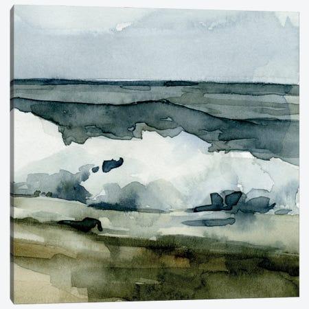 Loose Watercolor Waves VI Canvas Print #EMC35} by Emma Caroline Art Print