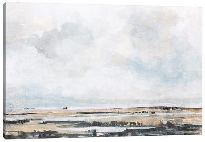 Ocean Inlet I Canvas Art Print