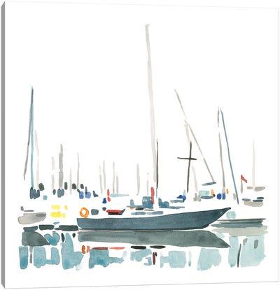 Sailboat Scenery I Canvas Art Print