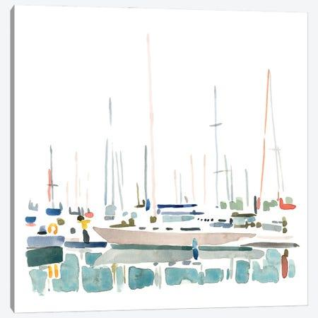Sailboat Scenery II Canvas Print #EMC41} by Emma Caroline Canvas Print