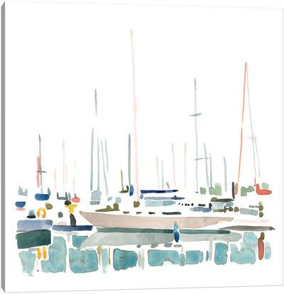 Sailboat Scenery II Canvas Art Print