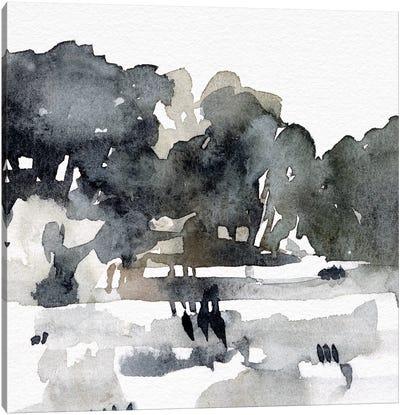 December Landscape I Canvas Art Print