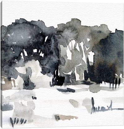December Landscape II Canvas Art Print