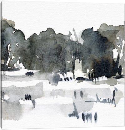 December Landscape III Canvas Art Print