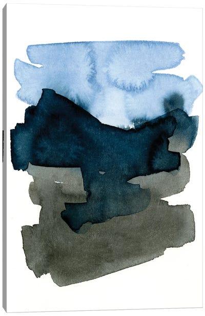 Blue Passages II Canvas Art Print