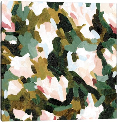 Floral Frenzy II Canvas Art Print