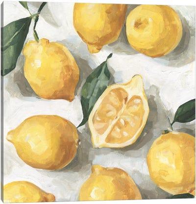 Fresh Lemons I Canvas Art Print