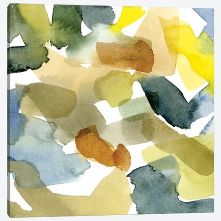 Watercolor Palette I Canvas Print #EMC59} by Emma Caroline Canvas Artwork