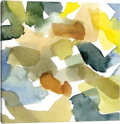 Watercolor Palette I Canvas Art Print