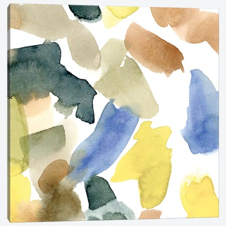 Watercolor Palette II Canvas Print #EMC60} by Emma Caroline Canvas Art Print