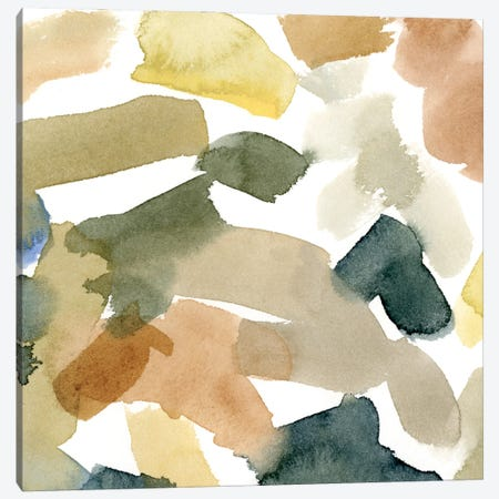 Watercolor Palette III Canvas Print #EMC61} by Emma Caroline Art Print