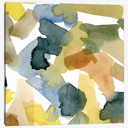Watercolor Palette IV Canvas Print #EMC62} by Emma Caroline Canvas Print