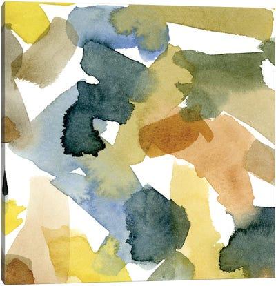 Watercolor Palette IV Canvas Art Print