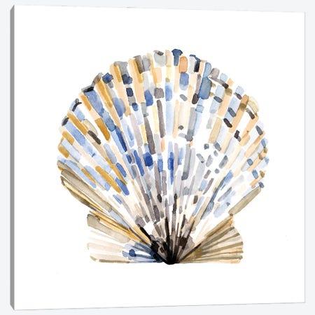 Simple Shells I Canvas Print #EMC67} by Emma Caroline Canvas Art