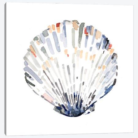 Simple Shells III Canvas Print #EMC69} by Emma Caroline Art Print