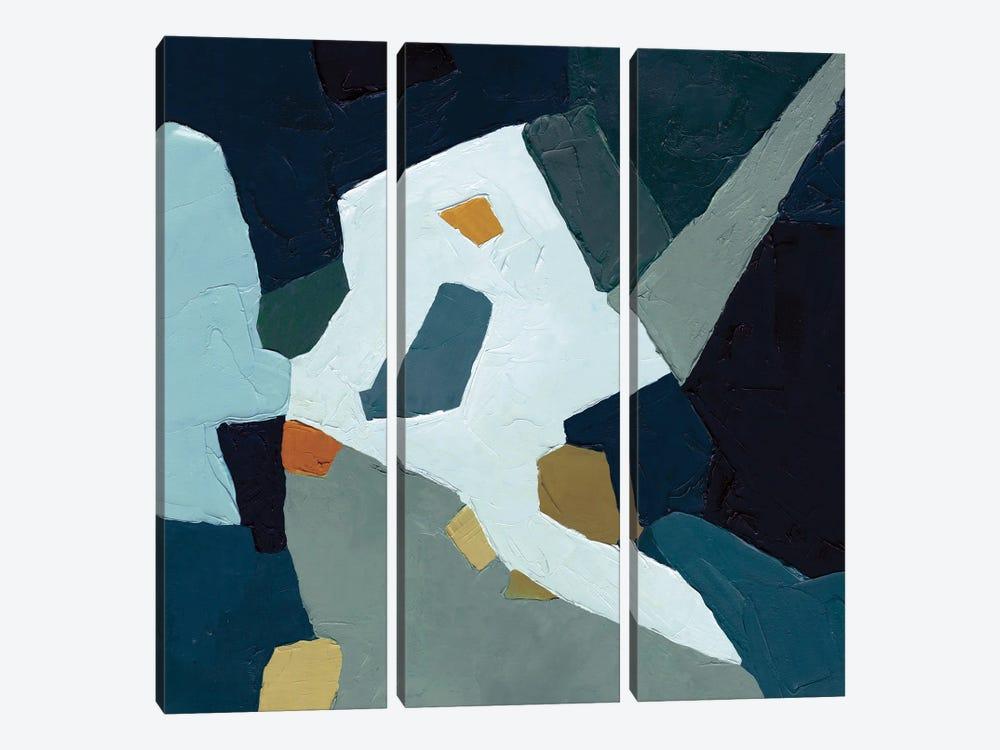 Palette Abstract I by Emma Caroline 3-piece Canvas Print