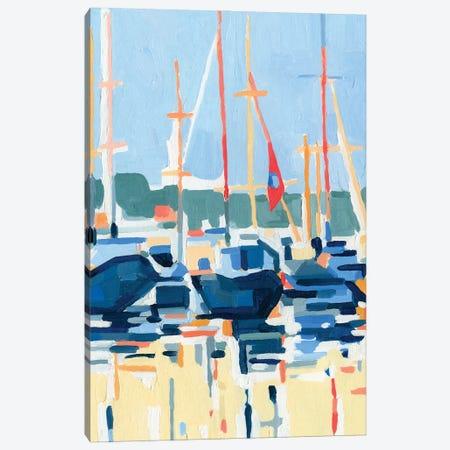 Marina Interpretation I Canvas Print #EMC95} by Emma Caroline Canvas Art Print