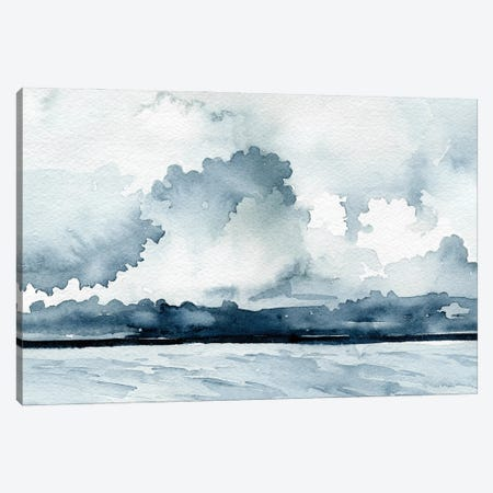 Passing Rain Storm I Canvas Print #EMC99} by Emma Caroline Canvas Wall Art