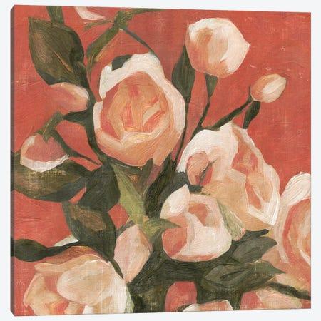 Rose Tangle I 3-Piece Canvas #EMC9} by Emma Caroline Art Print