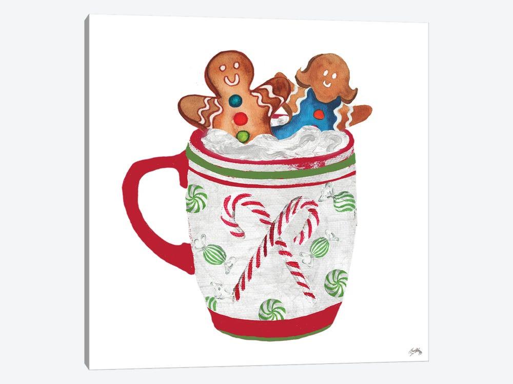 Gingerbread and a Mug Full of Cocoa I by Elizabeth Medley 1-piece Art Print