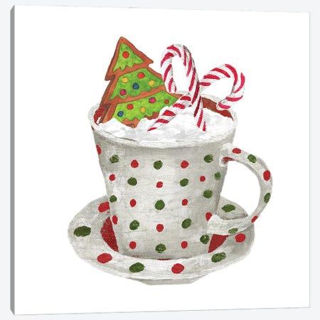 Gingerbread and a Mug Full of Cocoa II Canvas Print #EMD101} by Elizabeth Medley Canvas Art Print
