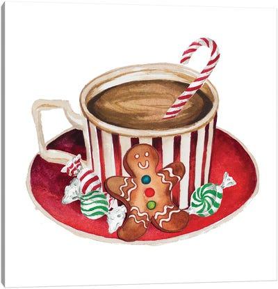 Gingerbread and a Mug Full of Cocoa III Canvas Art Print