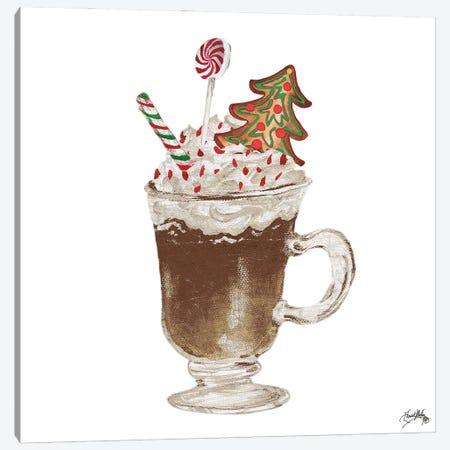 Gingerbread and a Mug Full of Cocoa IV 3-Piece Canvas #EMD103} by Elizabeth Medley Art Print