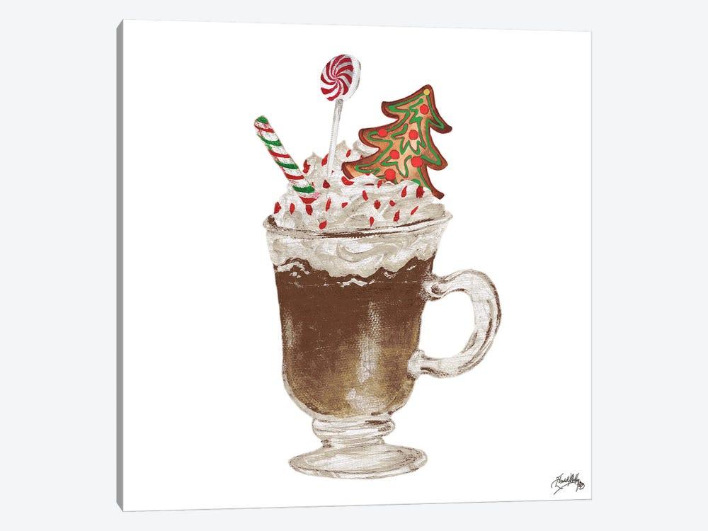 Gingerbread and a Mug Full of Cocoa IV by Elizabeth Medley 1-piece Canvas Artwork