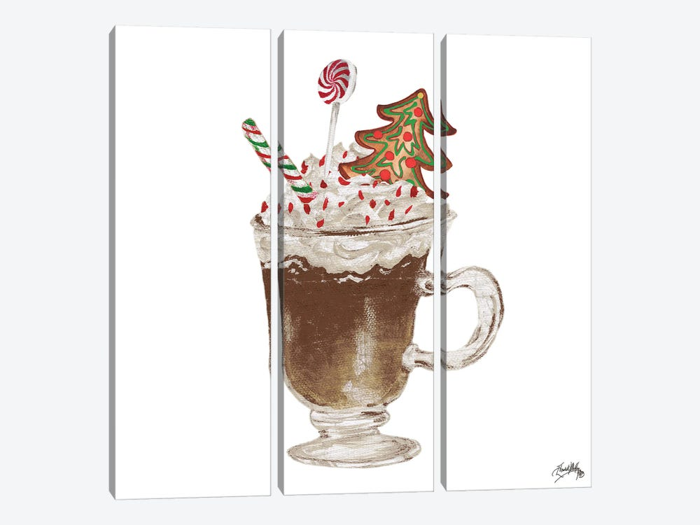Gingerbread and a Mug Full of Cocoa IV by Elizabeth Medley 3-piece Canvas Wall Art