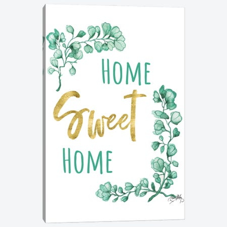Home Sweet Home Canvas Print #EMD107} by Elizabeth Medley Canvas Art