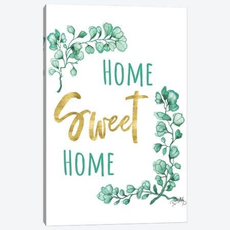 Home Sweet Home Canvas Print #EMD107} by Elizabeth Medley Canvas Art