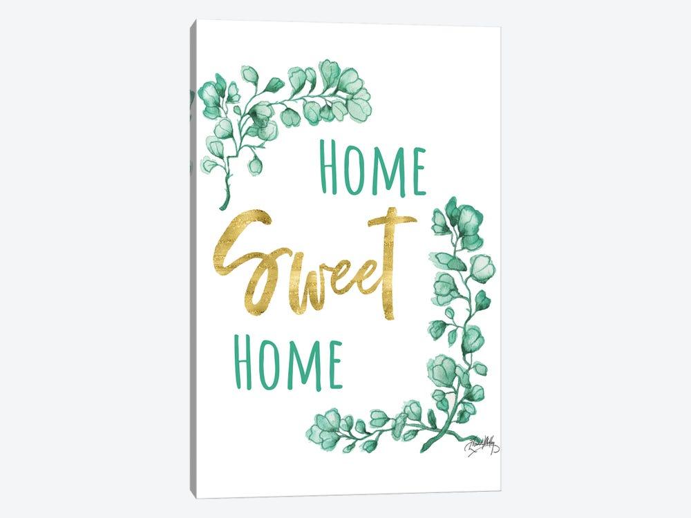 Home Sweet Home by Elizabeth Medley 1-piece Canvas Artwork