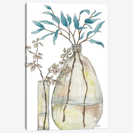 Serenity Accents I Canvas Print #EMD115} by Elizabeth Medley Canvas Art Print