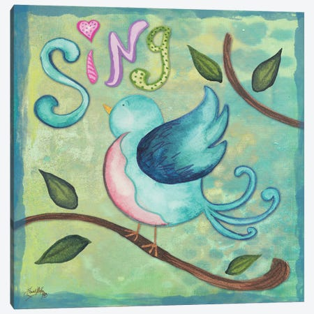 Spring Blossom I Canvas Print #EMD118} by Elizabeth Medley Canvas Art